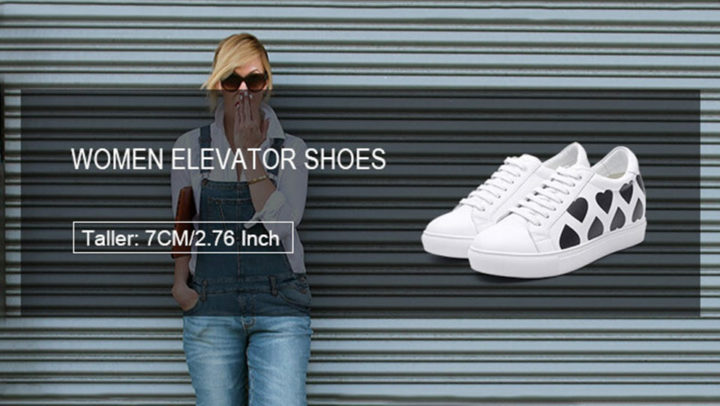 How to grow taller after twenty with Chamaripa women elevator shoes?*