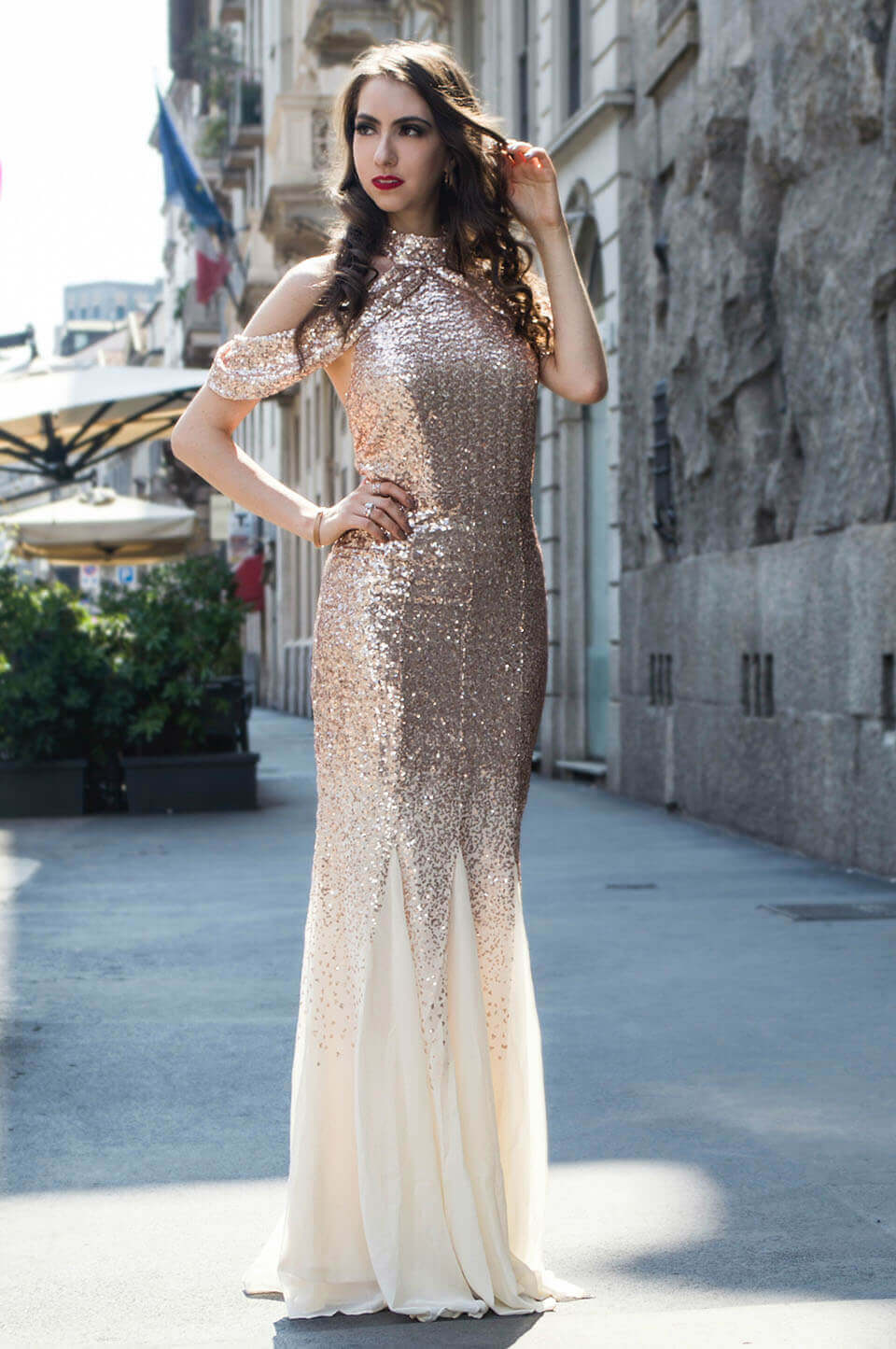 Manu Luize: Goddiva party dress review