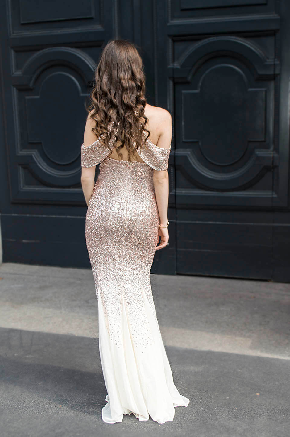 Party dress: back