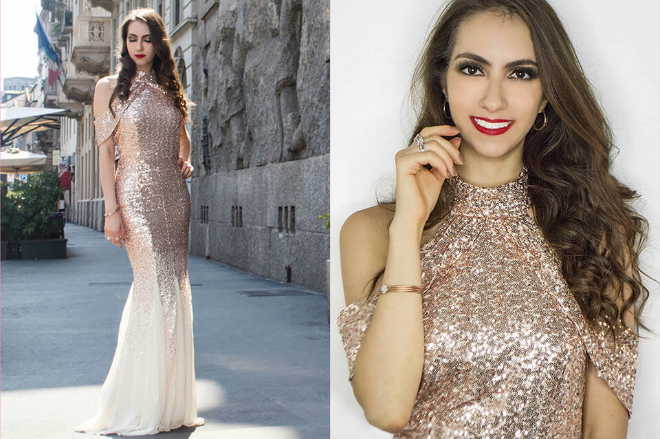 Sequin dress (maxi) - Manu Luize