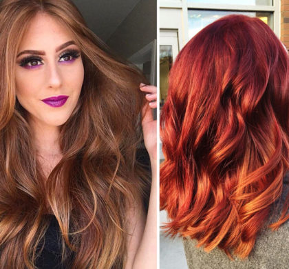 25 Red Hair Color Ideas to inspire you