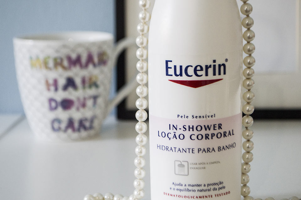 Hidratante de banho Eucerin (Resenha)