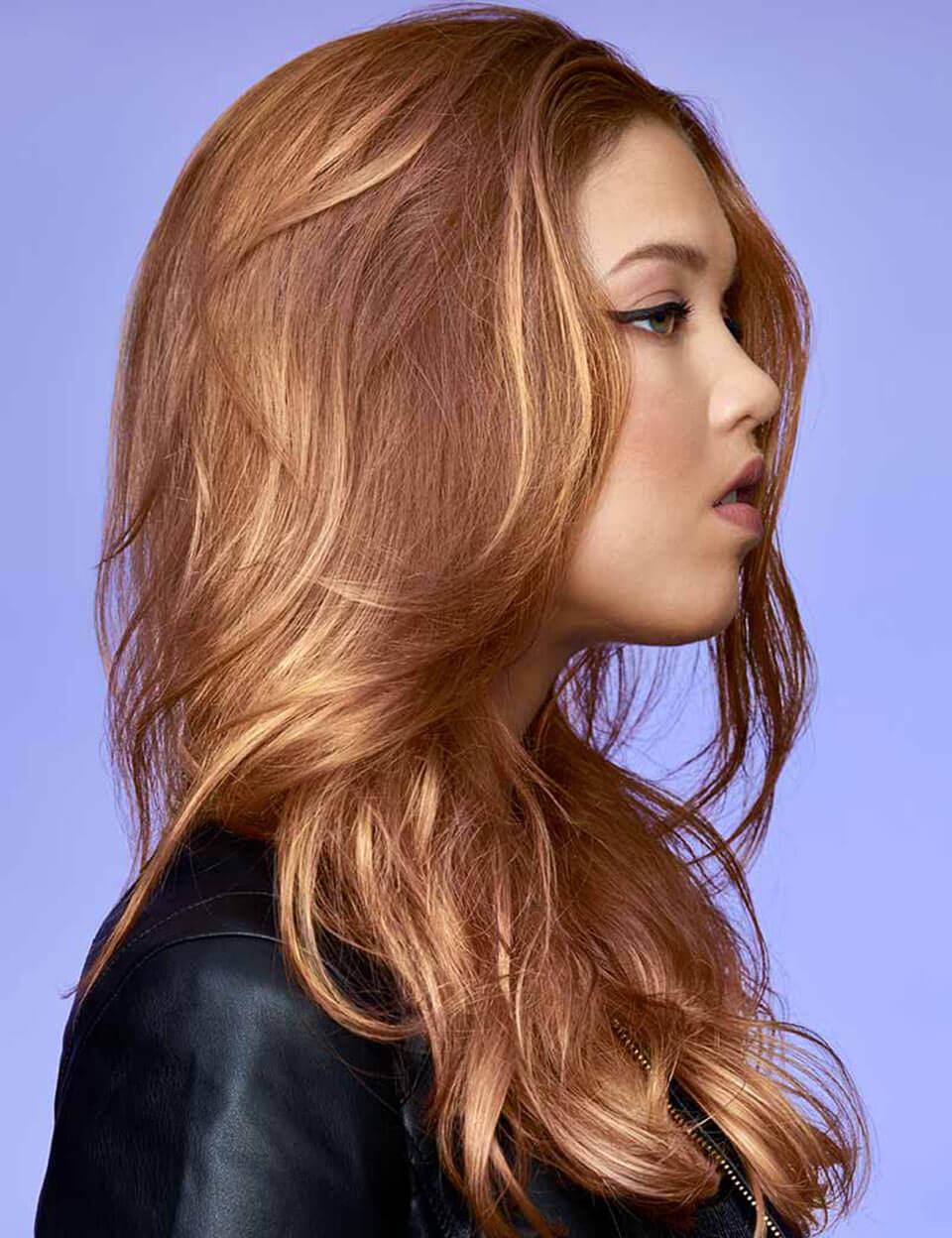 Strawberry blonde - cabelo ruivo