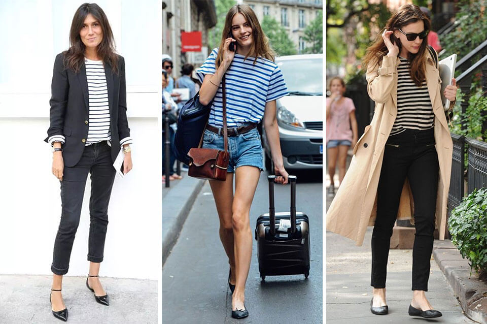 French Fashion: ballerine flats