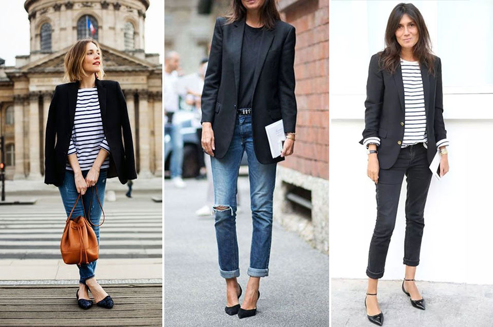 French fashion: blazer