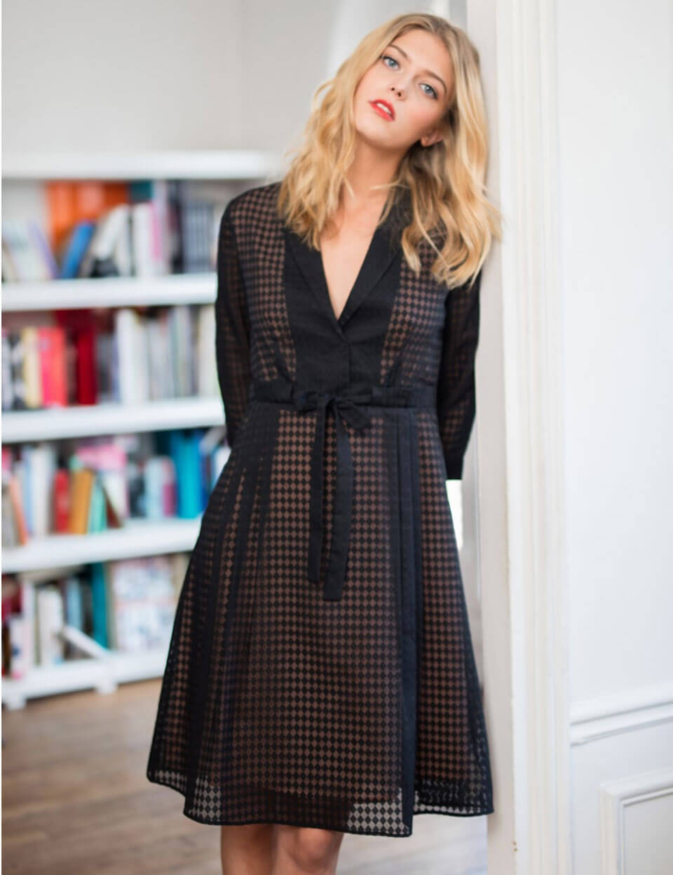 French fashion: Cocktail dress