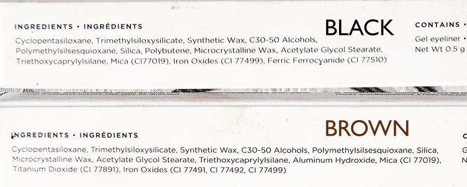 Esqido gel eyeliner ingredients