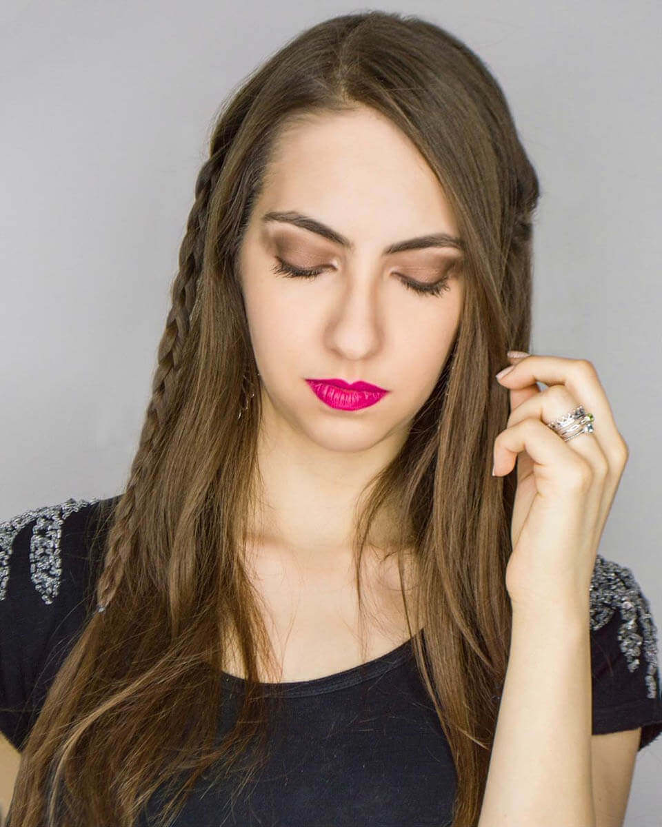 Hairstyle ideas with braids