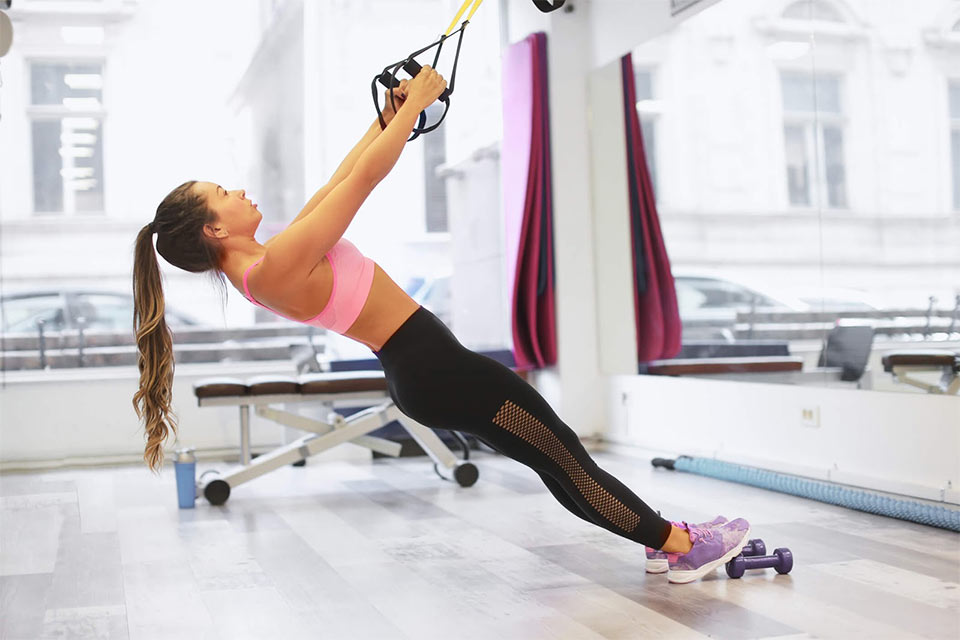 Roupa para praticar exercício