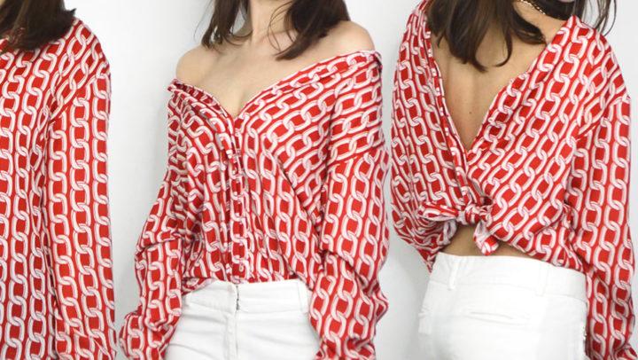 7 Modos de como usar uma Camisa Feminina