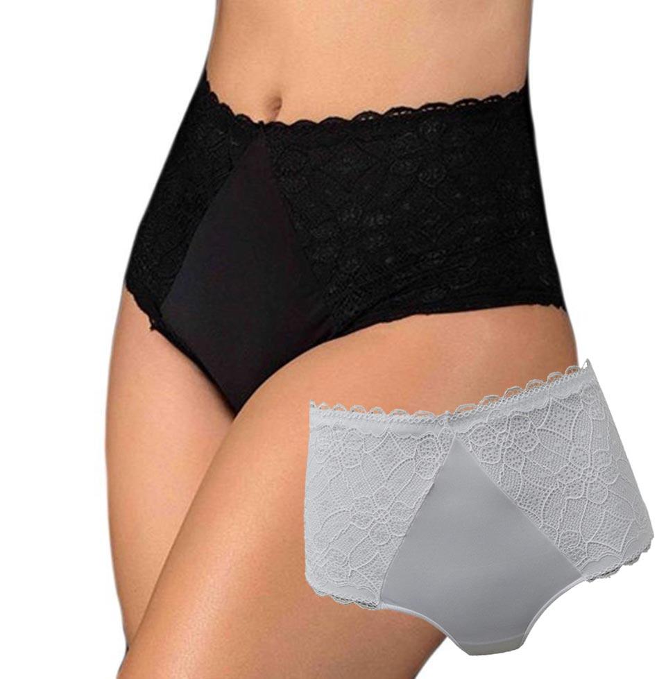 Kit calcinhas de cintura alta