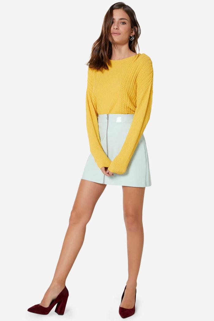 Roupas de frio: look com suéter
