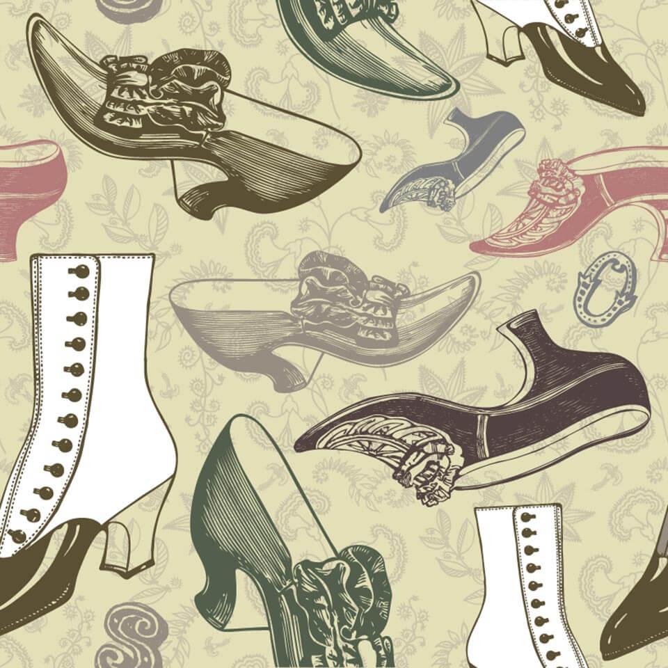 Sapatos antigos