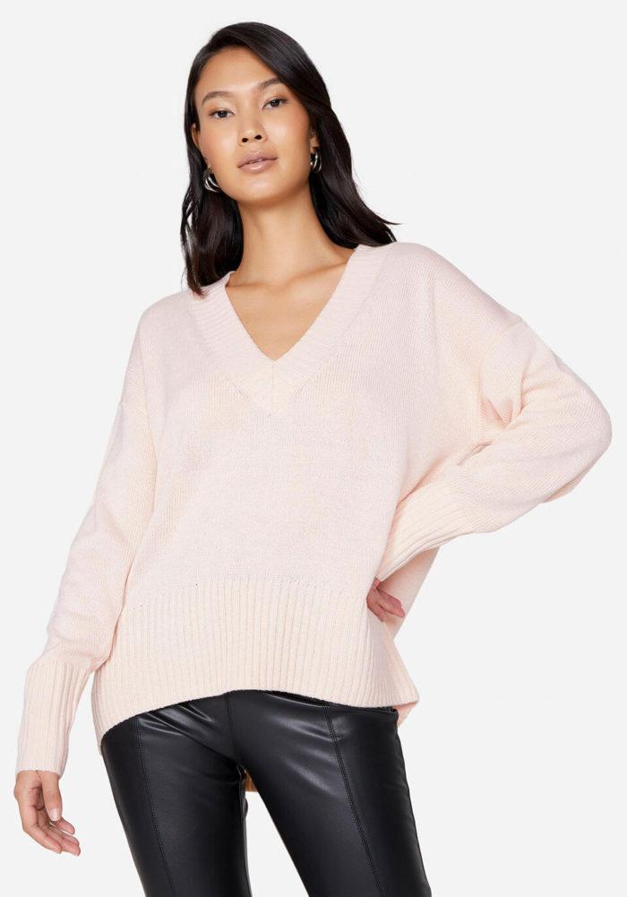 suéter de tricô