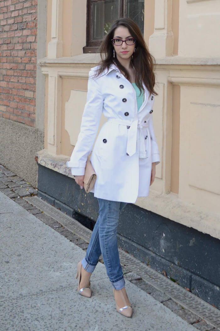 Look com trench coat - Manu