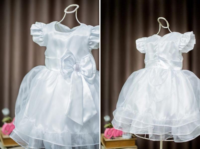 Vestido de batizado infantil