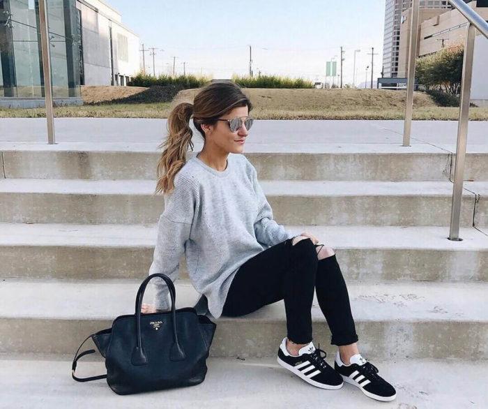 calça jeans preta: como usar