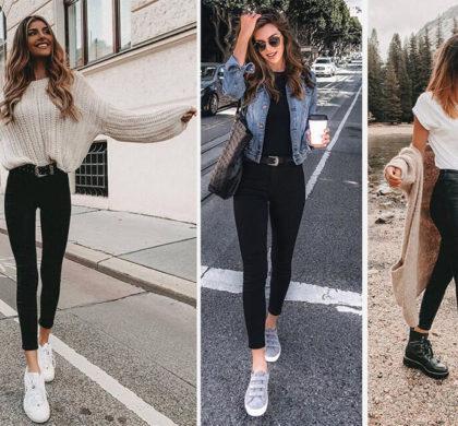 Calça jeans preta: Modelos e Como usar [GUIA]