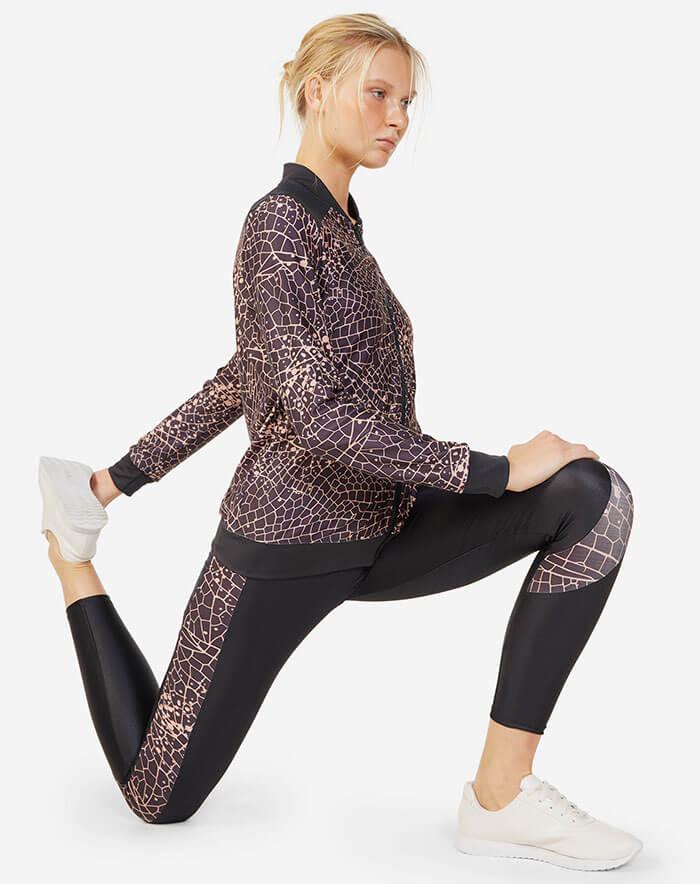 Roupa de pilates fashion