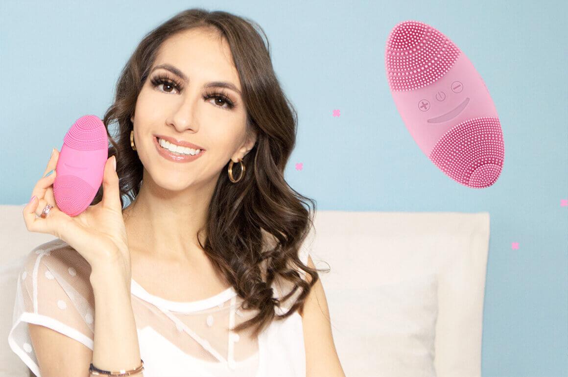 Escova de limpeza facial Oval Sunmay [Benefícios e Resenha Completa]