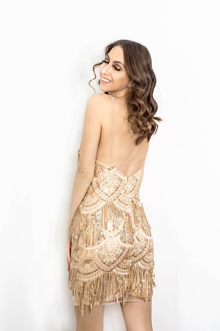 Sequins dress - Femme Luxe Finery