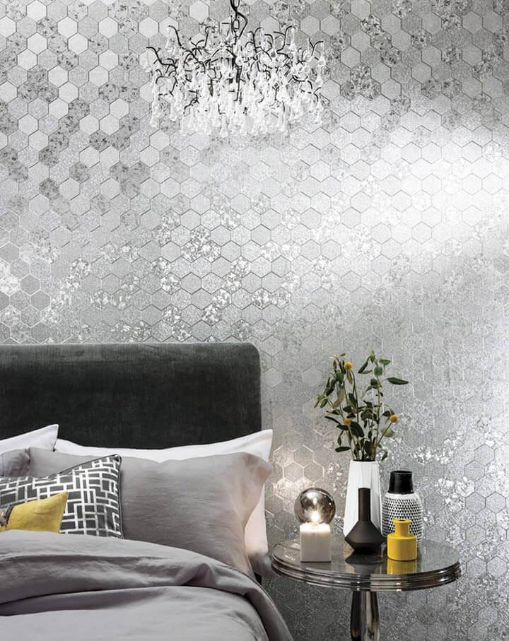 Papel de parede quarto de casal