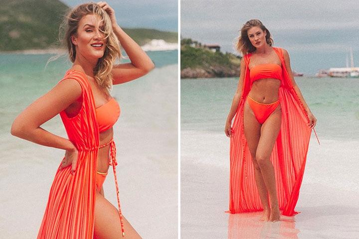 Saída de praia longa: Vestidos