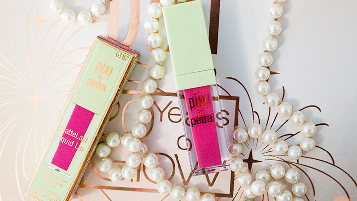 Pixi MatteLast Liquid Lip Pleasing Pink Review