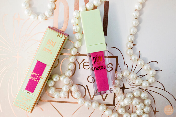 Pixi Pleasing pink liquid lip