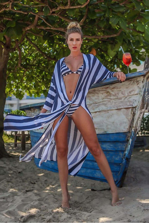 Saída de praia: chemise