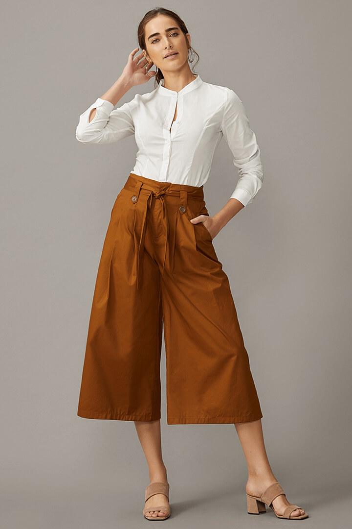 Looks da moda com pantacourt