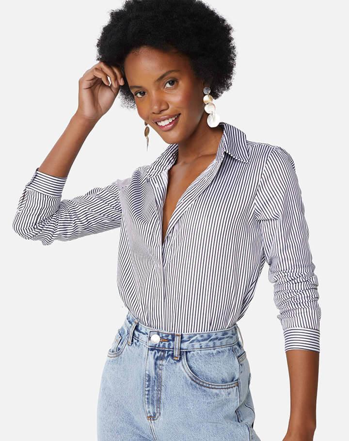 Camisa: Look para Trabalhar em casa