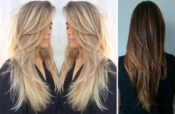 30 Tagli di capelli lunghi