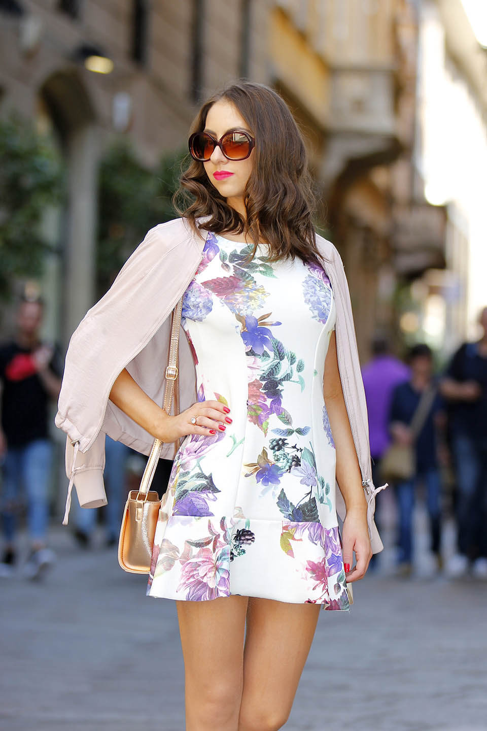 Summer Dress in Floral Print