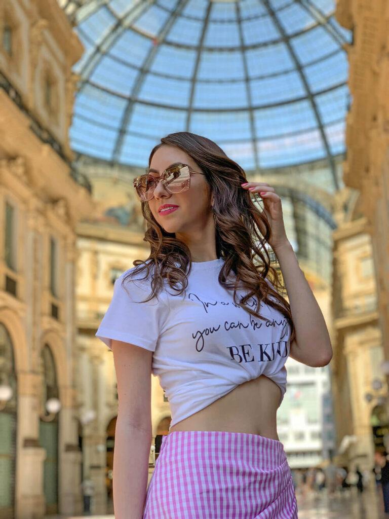 Manu Luize Milano - T-shirt outfit