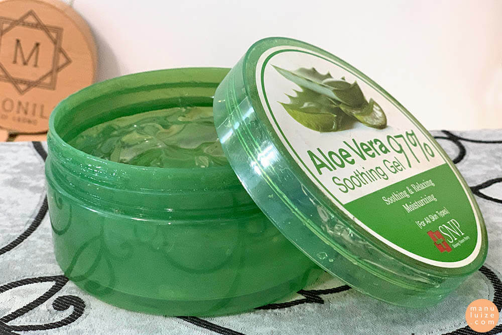 Soothing gel Aloe Vera - SNP (review)