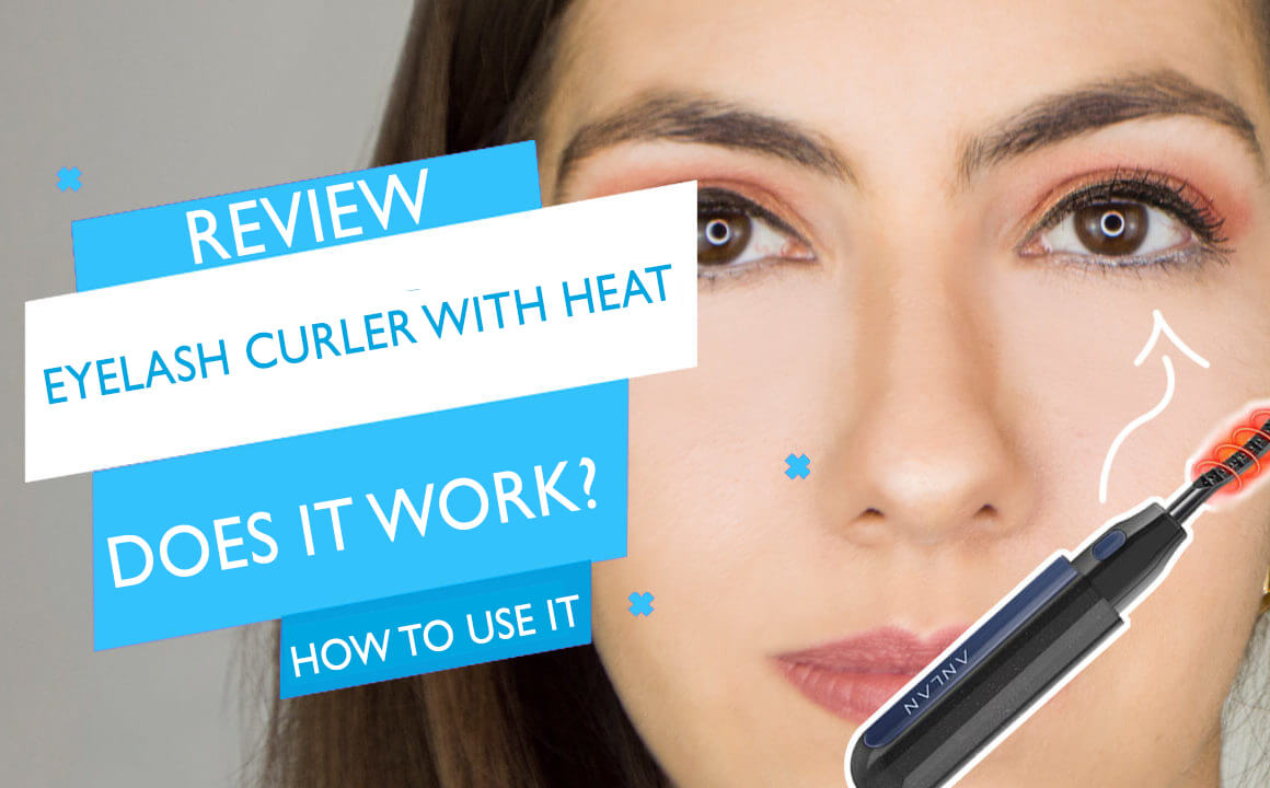 Eyelash curler with heat