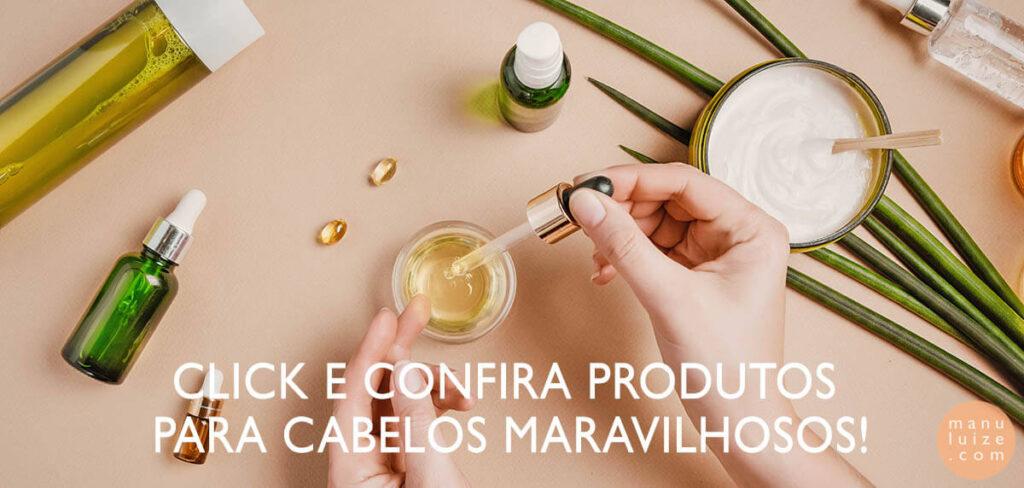 Produtos para cabelos