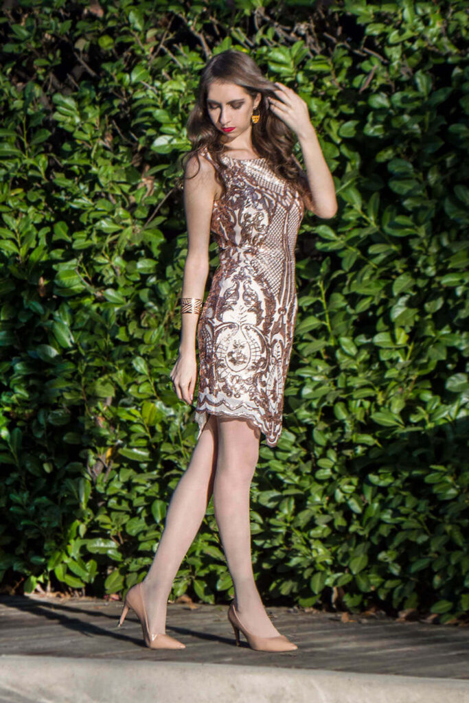 Sequin dresses: 10 short evening dresses