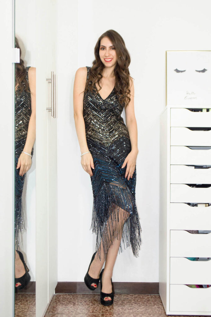 Sequin dress: 10 short evening dresses