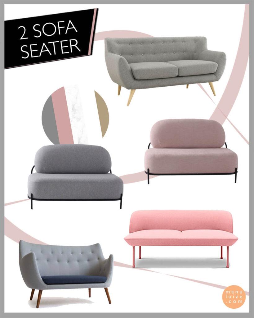 2 Sofa Seater - Diiiz sofas