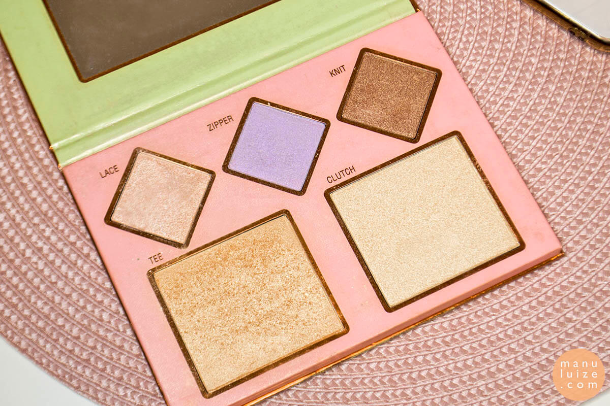 Pixi highlighter palette: Rachh loves Pixi