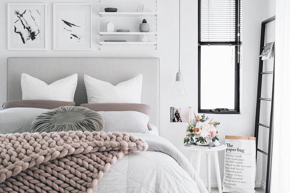 Camera da letto moderna: 35 foto meravigliose