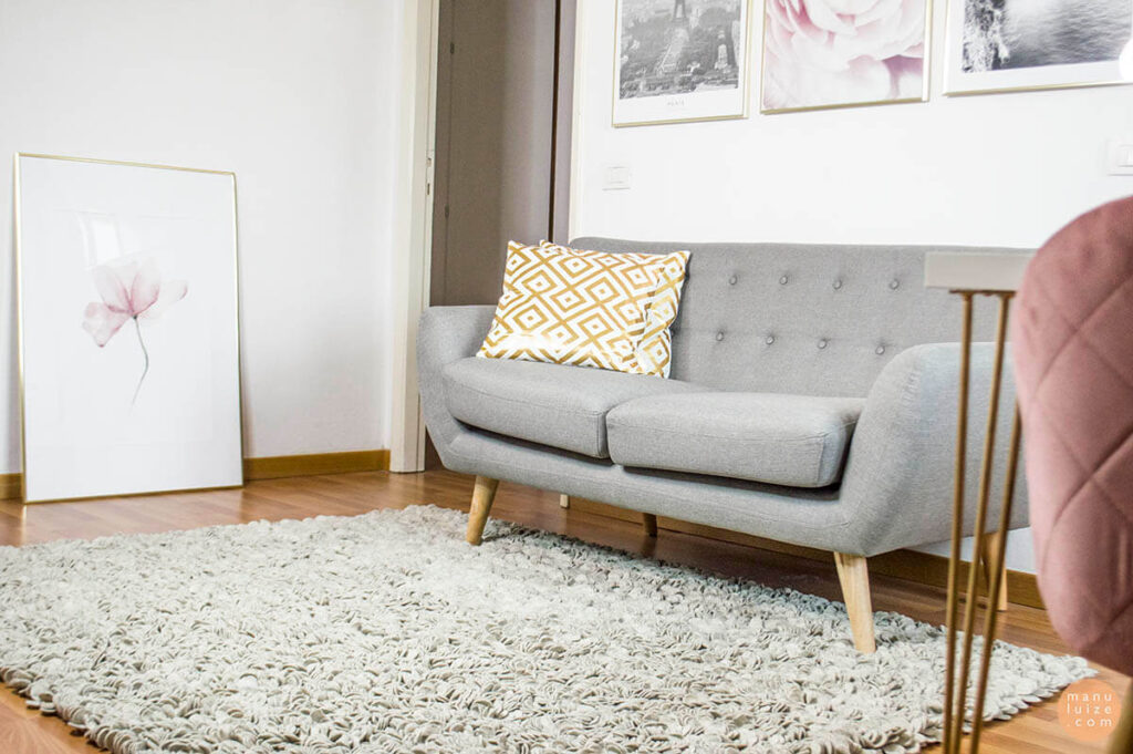 Rug size for living room - Manu Luize