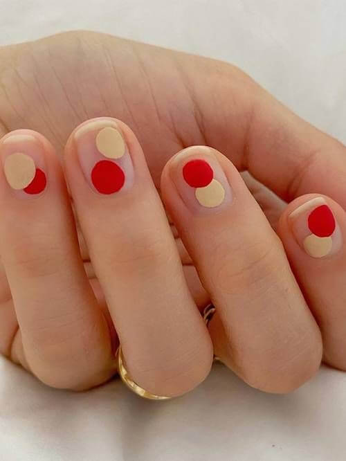 Unhas vermelhas - nail art vermelha